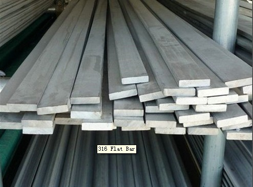 304 316L 440C Stainless Steel Flat Bars Hot Formed , 3mm - 12mm